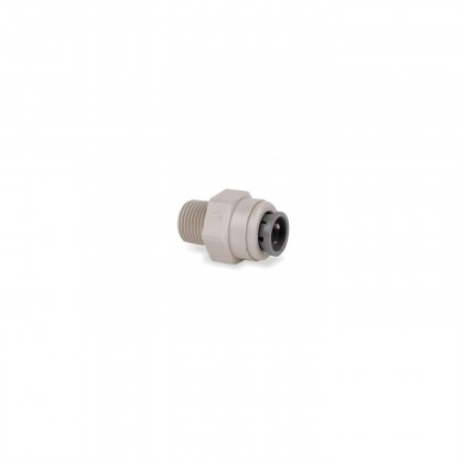 John Guest PI010802S Male Connector - Gray