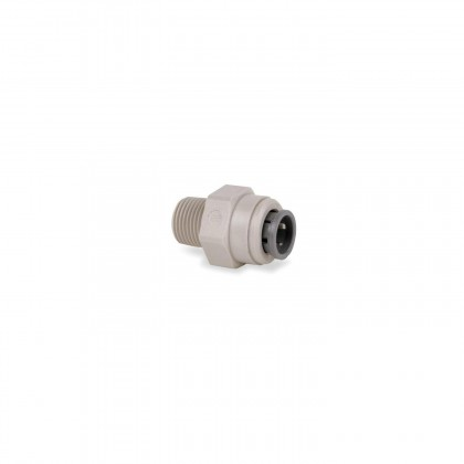 John Guest PI010823S Straight Connector - Gray