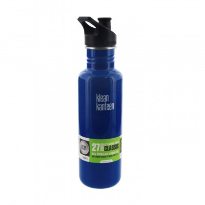 Klean Kanteen K27PPS-BP Stainless Steel 27 oz. Water Bottle by Blue Planet