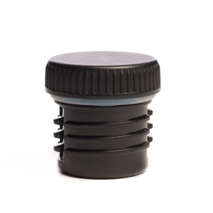KPPF Klean Kanteen Water Bottle Black Flat Cap