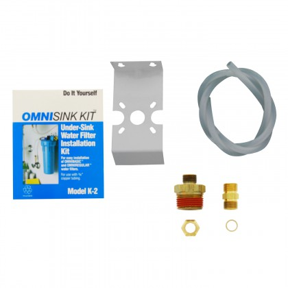 Omni K2 Undersink Water Filter Installation Kit