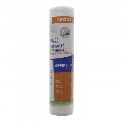 RS12-SS6-05 Polypropylene Sediment Filter by OmniFilter