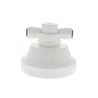 Omnipure ELF-VALVED-HEAD-KK Valved Water Filter Head