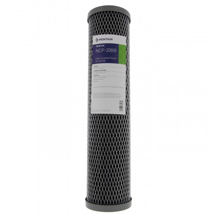 Pentek NCP-20BB Carbon Water Filters (20-inch x 4-1/2-inch) (Front With Label)