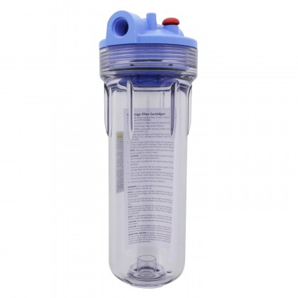 158623 Clear 3G Filter Housing by Pentek