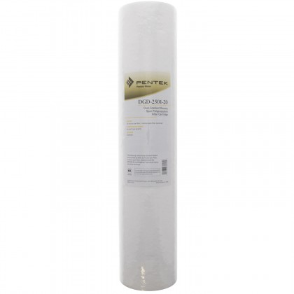 Pentek DGD-2501-20 Sediment Water Filters (20-inch x 4.5-inch)