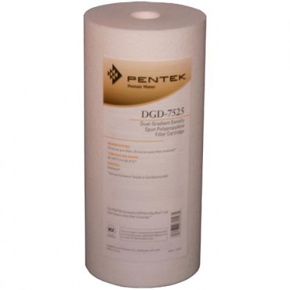 Pentek DGD-7525 Sediment Water Filters (10-inch x 4.5-inch)