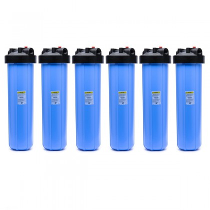 20-BB 1-Inch Whole House Water Filter System (6-Pack)