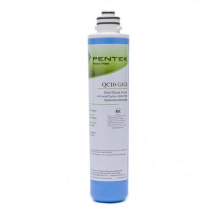 Pentek QC10-GACR Undersink Quick-Change Replacement Filter Cartridge