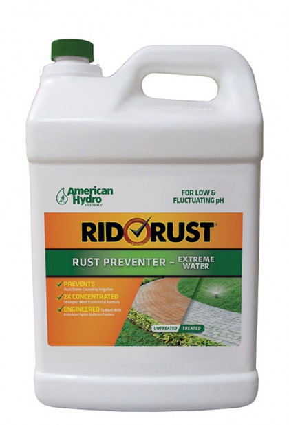 RR2-2.5 Rid O' Rust Extreme Water 2X Concentrate Rust Preventer by American Hydro Systems (2.5 Gallon Container)