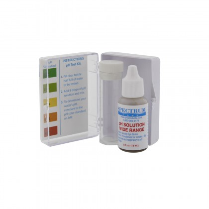 pH Test Kit by Spectrum Labs