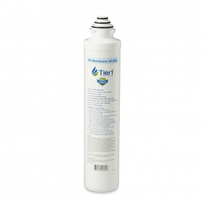 Tier1 ROQC4-RORM 4-Stage Quick Change Reverse Osmosis Water Filter Replacement Membrane