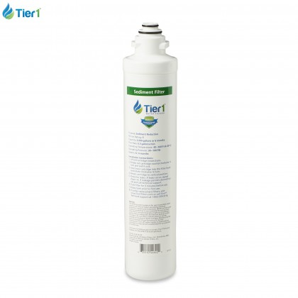 Tier1 RO-QC4-SDRF 4-Stage Sediment Quick Change Reverse Osmosis Water Filter Replacement