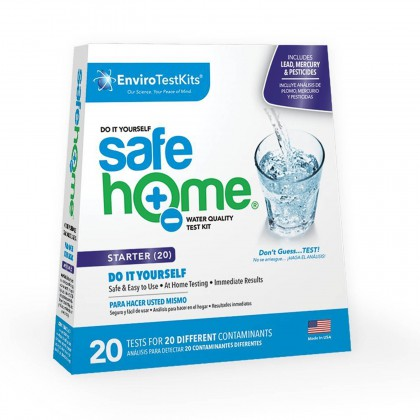 Safe Home 20 Panel Water Test Kit (Front)