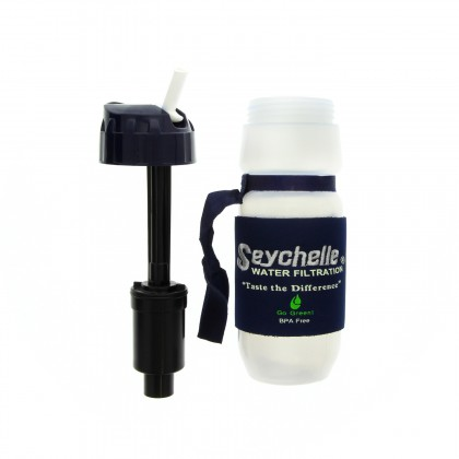 Seychelle 1-10203-HI-Seychelle 24oz Flip Top Filter Bottle, Standard