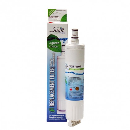 Swift Green SGF-W01 Refrigerator Filter (4396510 Compatible)