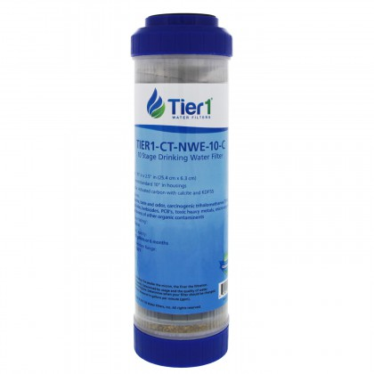 Tier1 10 x 2.5 Inch 10 Stage Countertop or Undersink Filter Cartridge Replacement