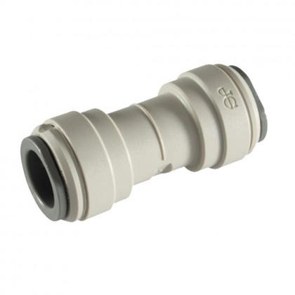 FQUC1588 - 1/2-Inch Tube x 1/2-Inch Tube Union Connector Quick Connect Fitting