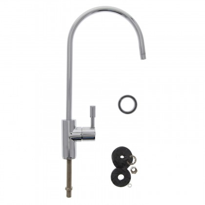 Chrome Ceramic Contemporary Faucet FCT-EC25-CP (888 Series)