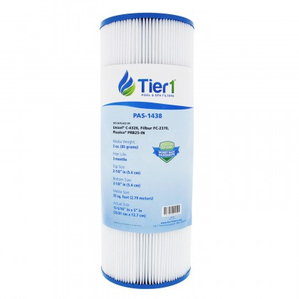 Tier1 Brand Replacement Pool and Spa Filter for 17-2327, 100586, 33521, 25392, 303909, M-4326, 817-2500 & R173429