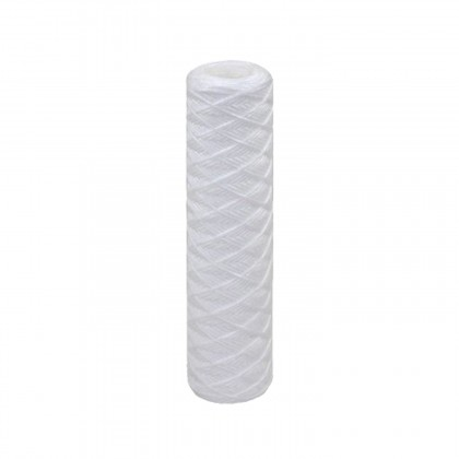 Tier1 20 inch x 4.5 inch String-Wound Sediment Water Filter (1 Micron)