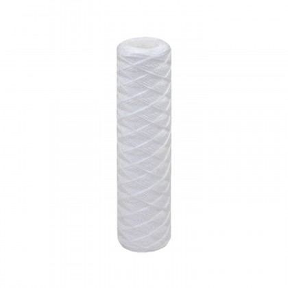 Tier1 20 inch x 4.5 inch String-Wound Sediment Water Filter (5 Micron)