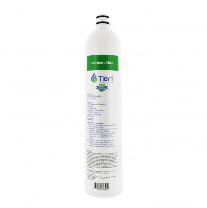 Tier1 US-UF-100-SDRF-1 4-Stage Ultra-Filtration Hollow Fiber Drinking Water System Replacement Sediment Filter (1 Micron)