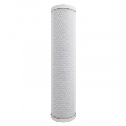 20 X 4.5 Carbon Block Replacement Filter by Tier1 (0.5 micron)