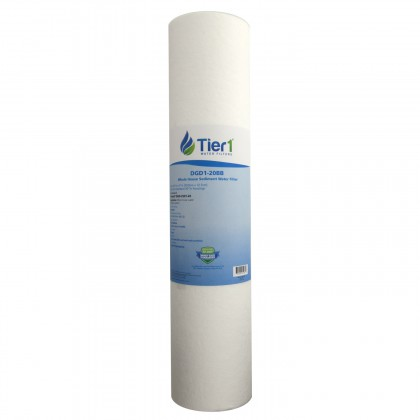 20 X 4.5 Spun Wound Polypropylene Replacement Filter by Tier1 (1 micron)