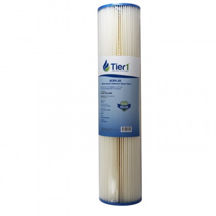20 X 4.5 Pleated Cellulose Polyester Replacement Filter by Tier1 (5 micron)