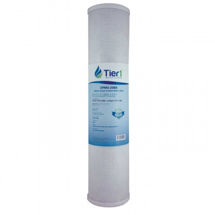 20 X 4.5 Carbon Block Replacement Filter by Tier1 (10 micron)