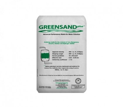 Tier1 Manganese Green Sand Water Treatment Media (43 lb bag)