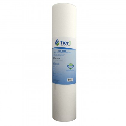 20 X 4.5 Spun Wound Polypropylene Replacement Filter by Tier1 (20 micron)