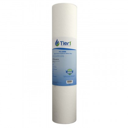 20 X 4.5 Spun Wound Polypropylene Replacement Filter by Tier1 (5 micron)