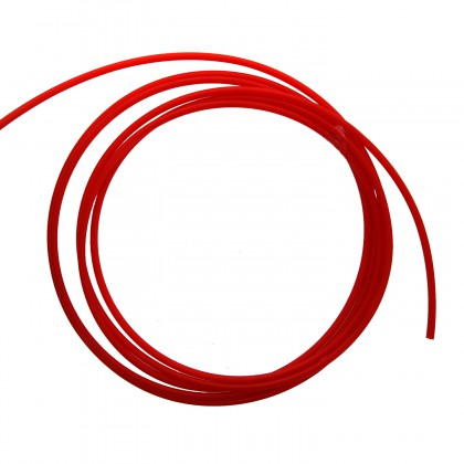 PT04-RD-0500 Red Polyethylene Tubing by Tier1