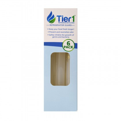 Tier1 Universal Refrigerator Odor Reduction and Bacteria Inhibiting Air Freshener (6 Pack)