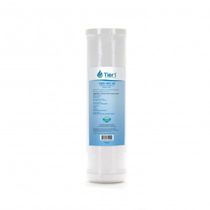10 X 2.5 Radial Flow Granular Activated Carbon Replacement Filter by Tier1 (25 micron)