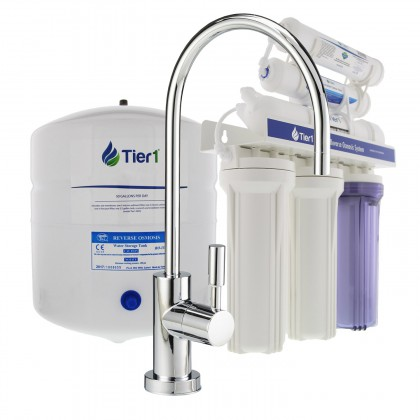 Tier1 6-Stage Reverse Osmosis System (50 GPD) (Main Image)