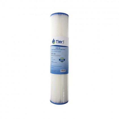 20 X 4.5 Pleated Polyester Replacement Filter by Tier1 (20 micron)