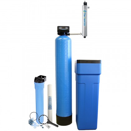 Tier1 Whole House Water Softener and Pre-Filtration and UV Disinfection System