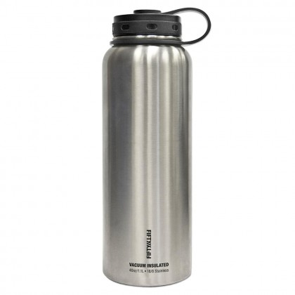 V40001SS0-FIFTYFIFTY-40 OZ SS Double Wall Vacuum Insulated Bottle
