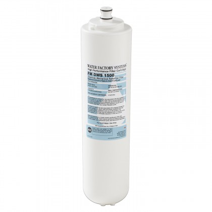 Water Factory Systems FM 1500 CTG Under Sink Replacement Filter Cartridge