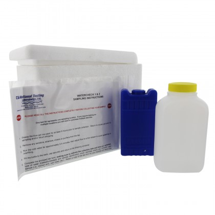 WaterTest Laboratory Analysis Water Testing Kit