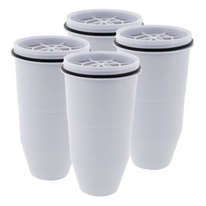 ZeroWater ZR-006 Water Filter Replacement Cartridges (4 Pack)
