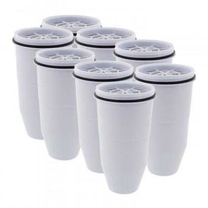 ZeroWater ZR-008 Water Filter Replacement Cartridges (8 Pack)