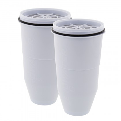 ZeroWater ZR-017 Water Filter Replacement Cartridges (2 Pack)