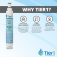 Tier1 EveryDrop EDR6D1 Whirlpool 4396701 Refrigerator Water Filter Replacement (Chart 2)