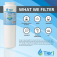 Tier1 Maytag UKF8001 Refrigerator Water Filter Replacement (Chart 1)