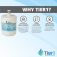 Tier1 LG 5231JA2002A / LT500P Refrigerator Water Filter Replacement Comparable (Chart 2)