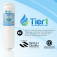 Tier1 GE MSWF SmartWater Refrigerator Water Filter Replacement Comparable (Chart 3)